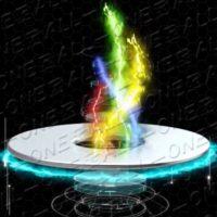 量子波動器オールワンの木火土金水五行官能モードを実行中。