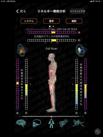 療癒分析スペクトル